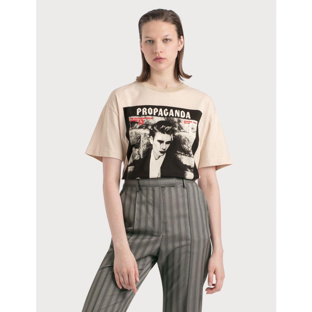 アクネ ストゥディオズ Acne Studios レディース Tシャツ トップス【Erice Magazine T-shirt】Cold Beige