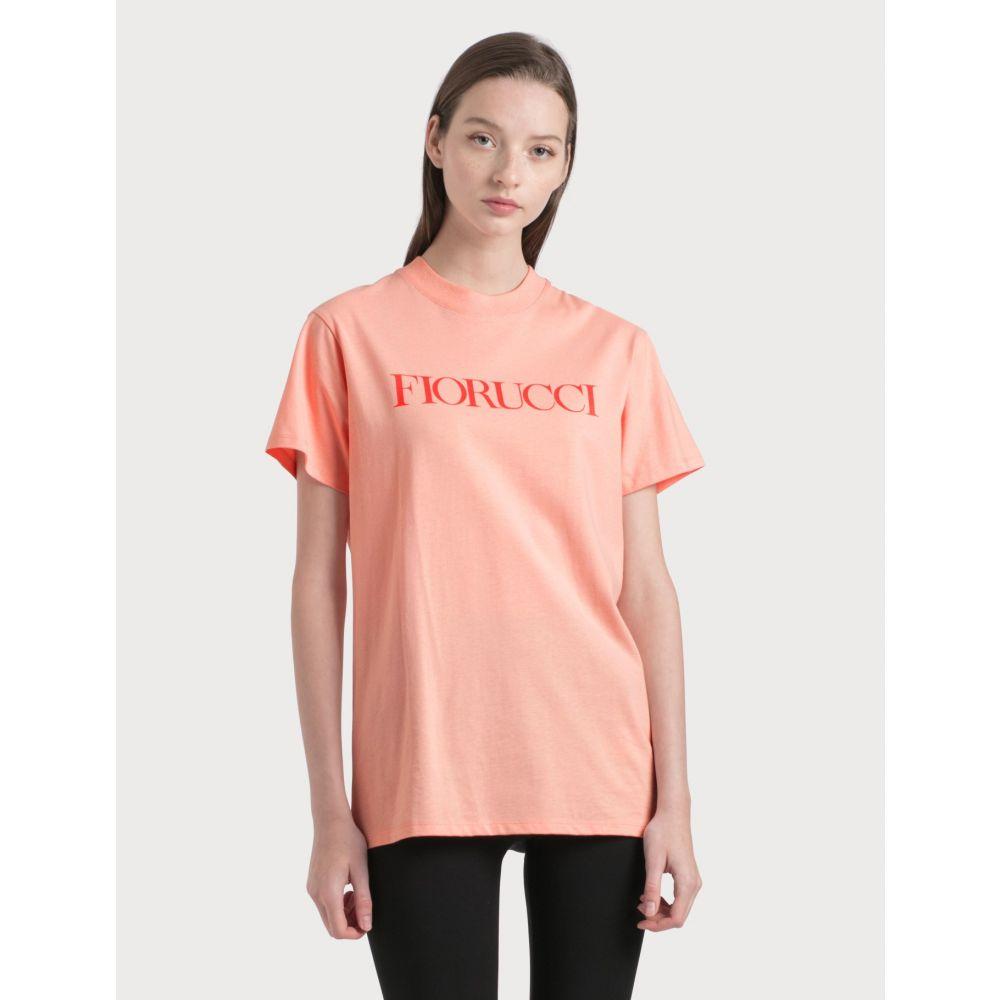 フィオルッチ Fiorucci レディース Tシャツ トップス【Flying Cherub T-Shirt】Pink