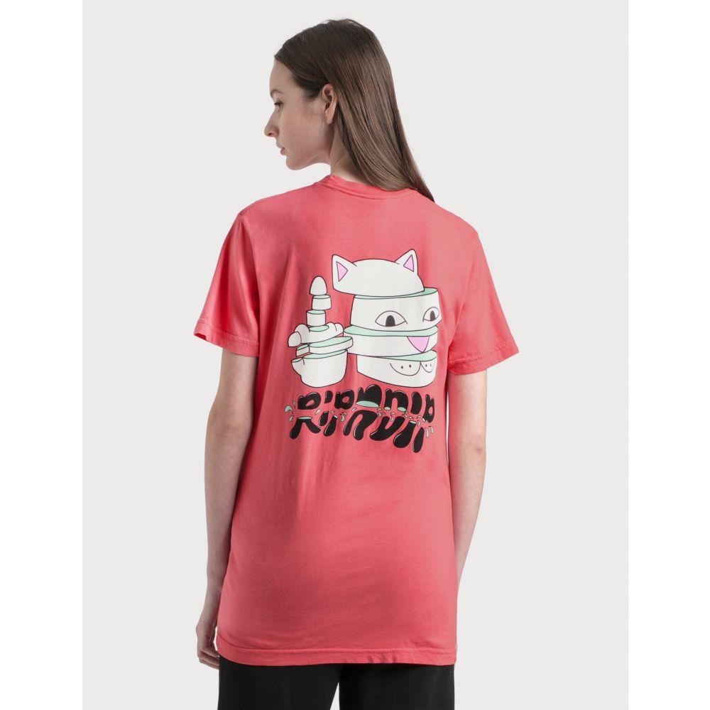 リップンディップ RIPNDIP レディース Tシャツ トップス【Sliced T-Shirt】Watermelon