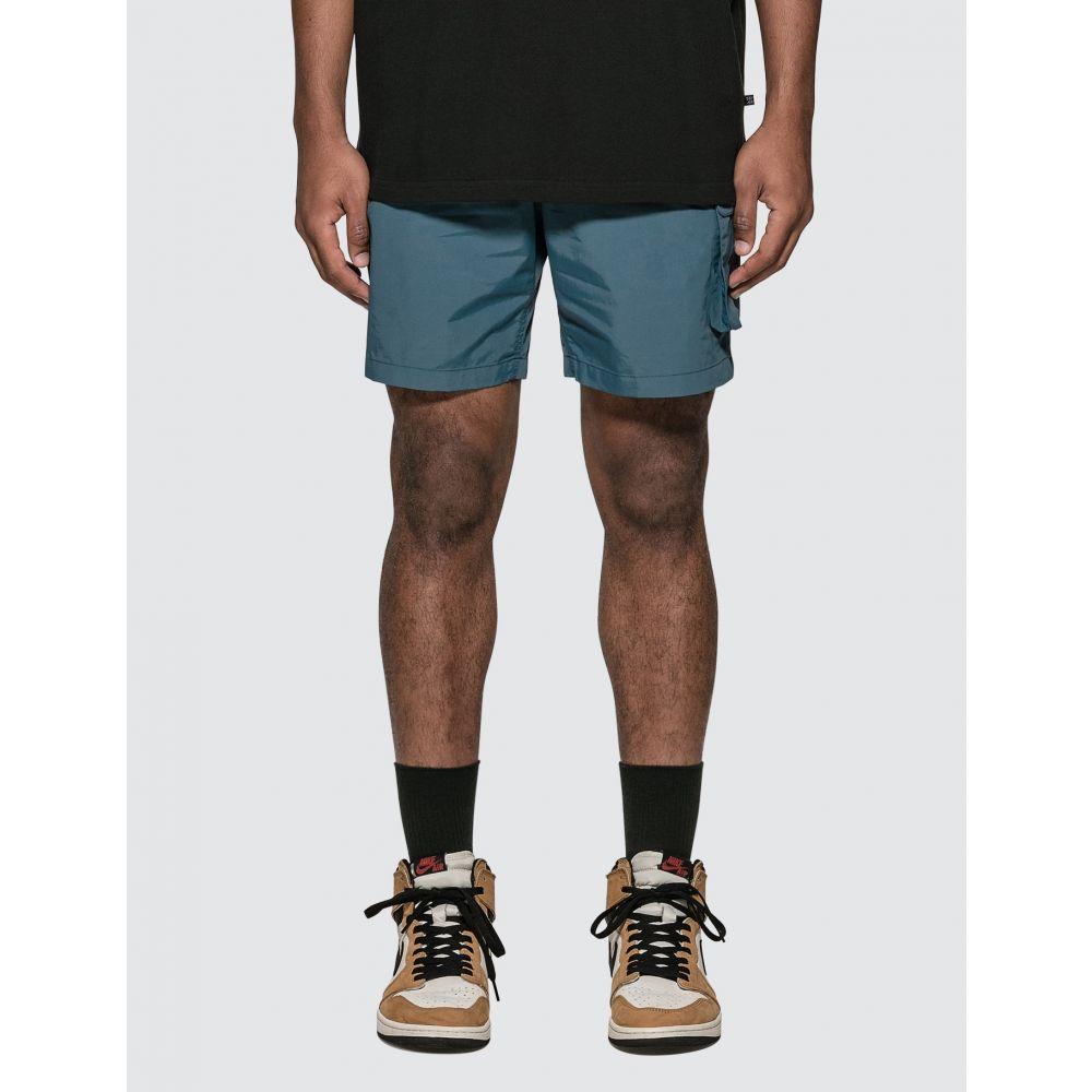 ディスイズネバーザット Thisisneverthat メンズ ハイキング・登山 ショートパンツ ボトムス・パンツ【DSN Hiking Shorts】Blue