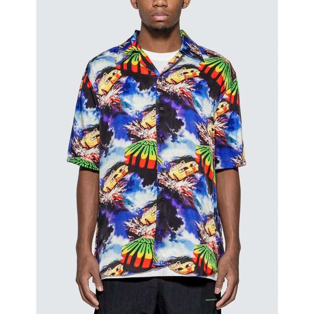 アッシド Assid メンズ 半袖シャツ アロハシャツ トップス【Autobahn Hawaiian Shirt】Multicolor