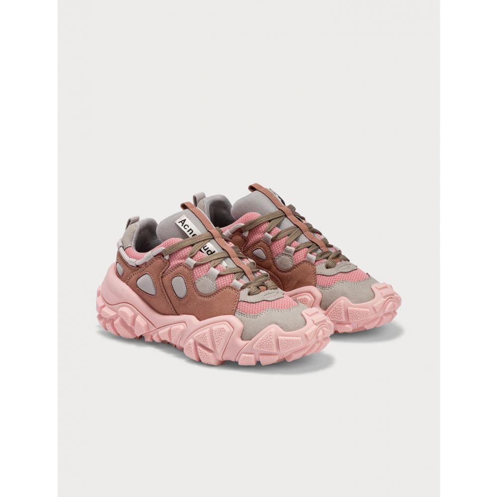 アクネ ストゥディオズ Acne Studios レディース スニーカー シューズ・靴【Bolzter W Tumbled Sneakers】Dusty Pink