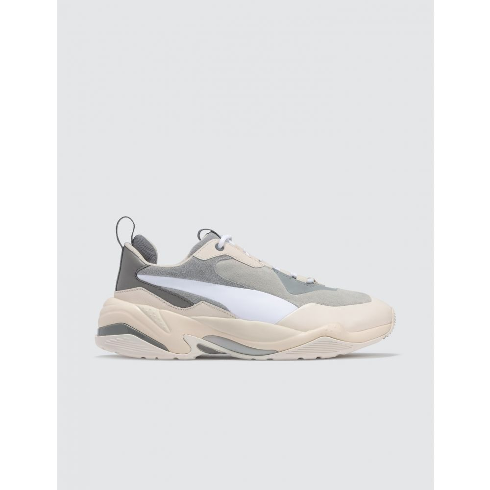 プーマ Puma レディース スニーカー シューズ・靴【Thunder Color Block】White/Grey