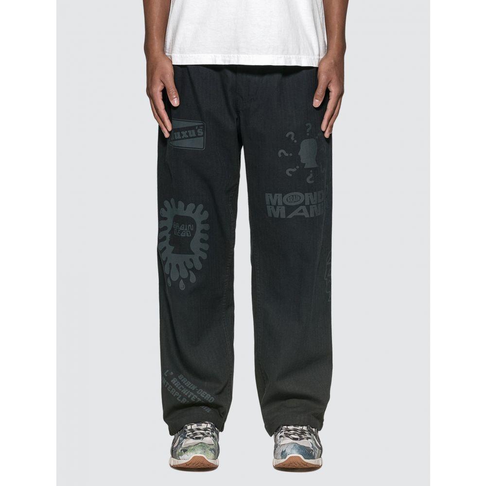 ブレインデッド Brain Dead メンズ ボトムス・パンツ 【Printed Climber Pants】Navy