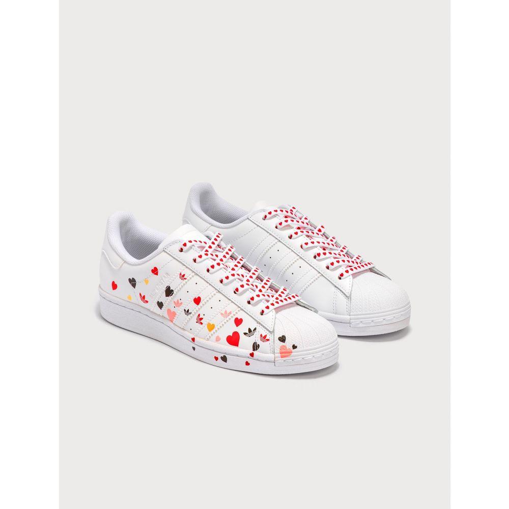アディダス Adidas Originals レディース スニーカー シューズ・靴【Superstar】Cloud White/Core Black/Glory Pink