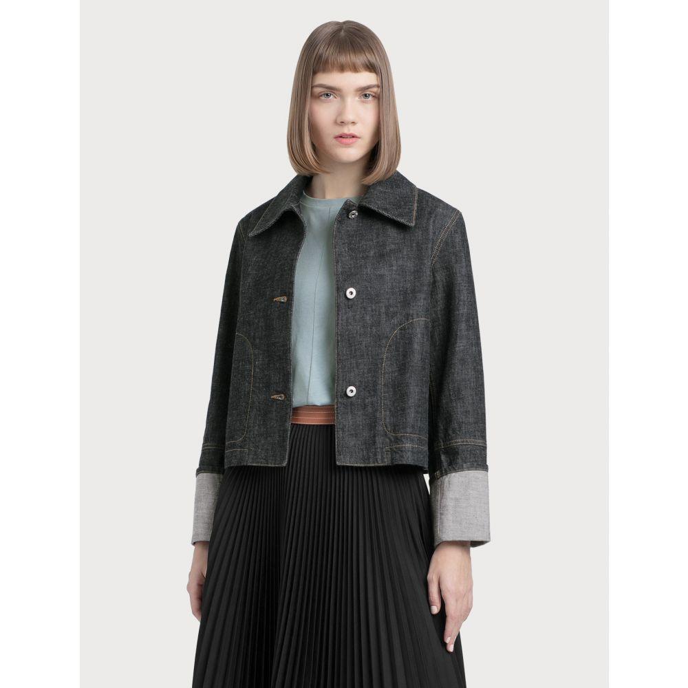 ロエベ Loewe レディース ジャケット アウター【Button Jacket】Indigo