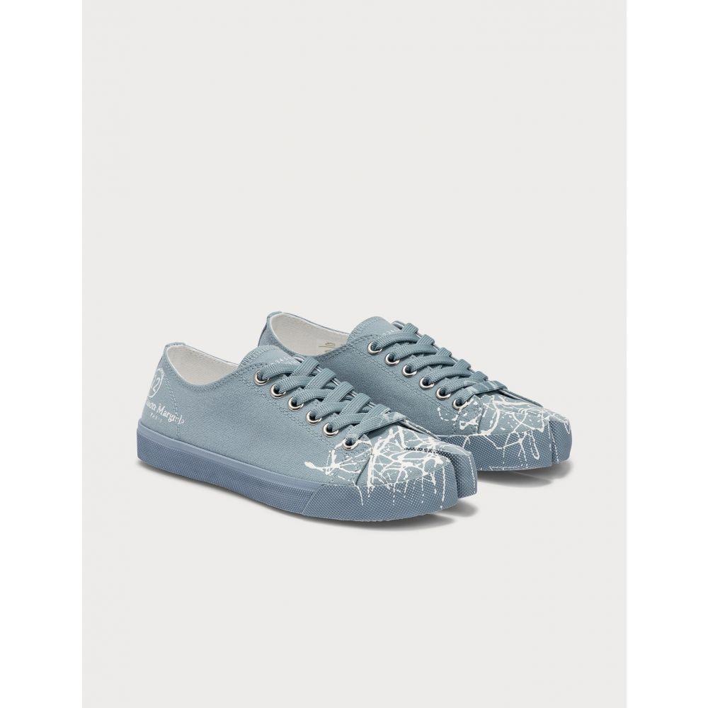 メゾン マルジェラ Maison Margiela レディース スニーカー ローカット シューズ・靴【Tabi Low Top Sneakers】Faded Denim