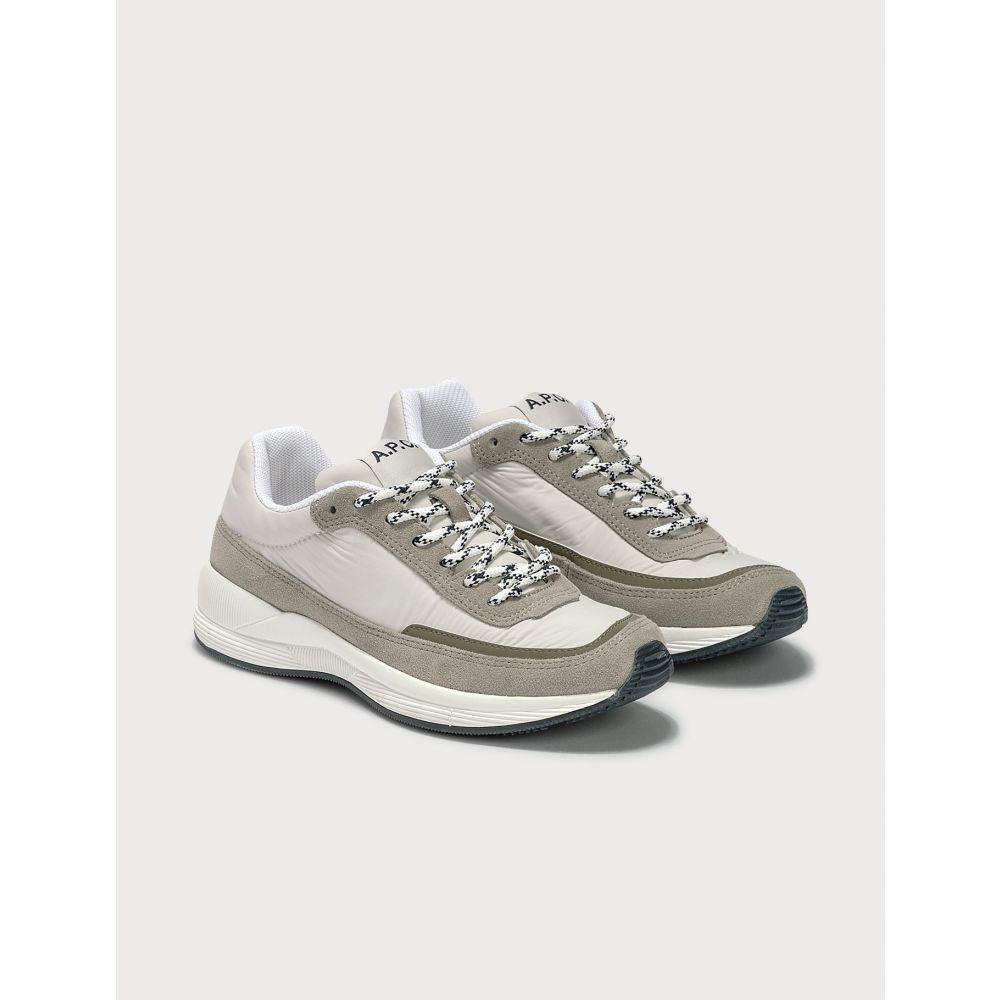 アーペーセー A.P.C. レディース スニーカー シューズ・靴【Teenage Mary Sneakers】Grey/White