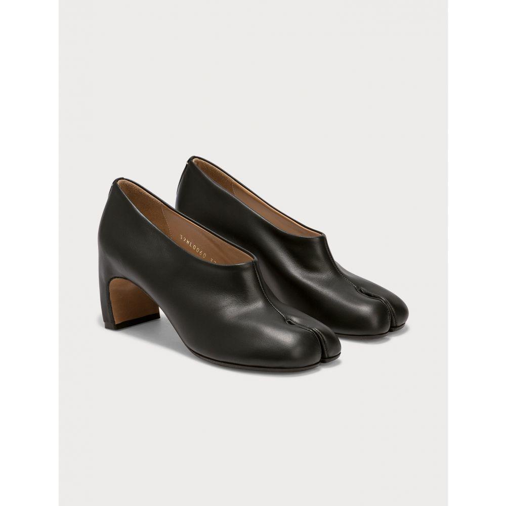メゾン マルジェラ Maison Margiela レディース パンプス シューズ・靴【Tabi Leather Pumps】Black