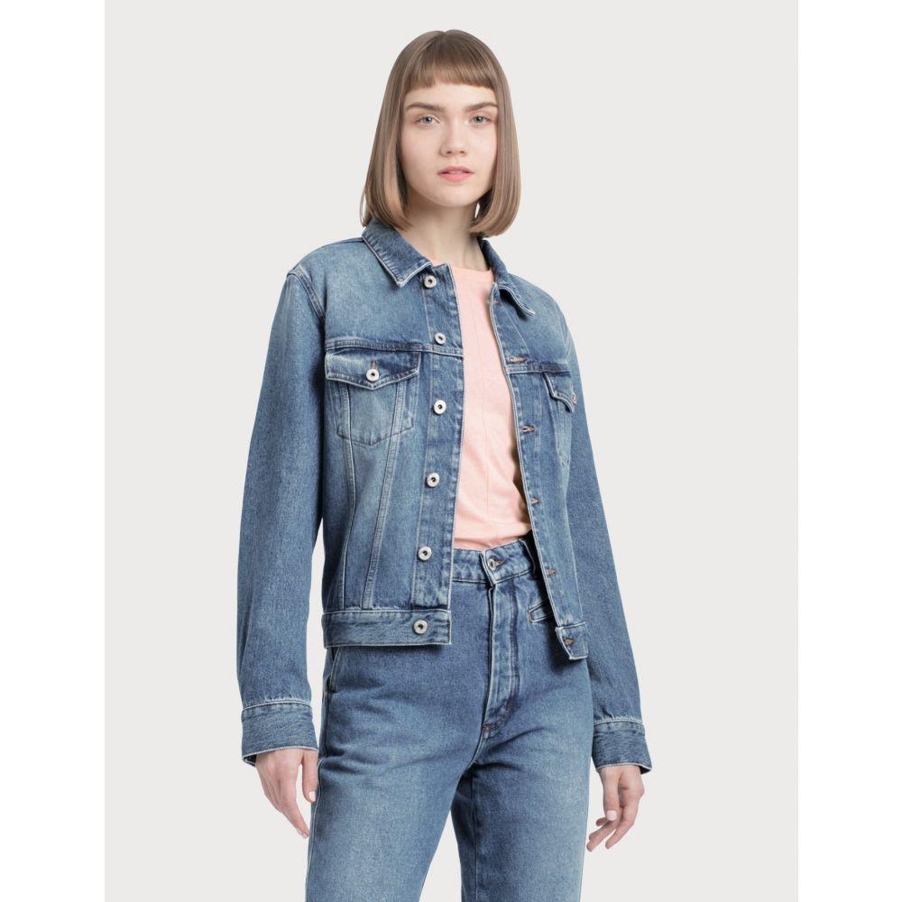 ロエベ Loewe レディース ジャケット Gジャン アウター【Denim Jacket】Washed Blue