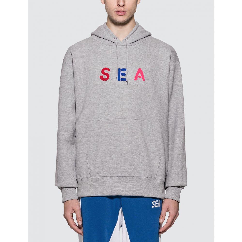 ウィンダンシー Wind And Sea メンズ パーカー トップス【Color Sea Hoodie】Grey