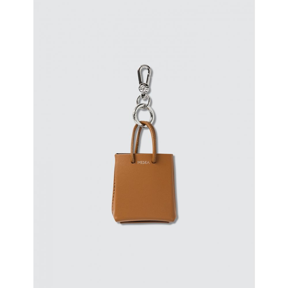 メデア Medea レディース キーホルダー 【Mini Prima Bag】Brown