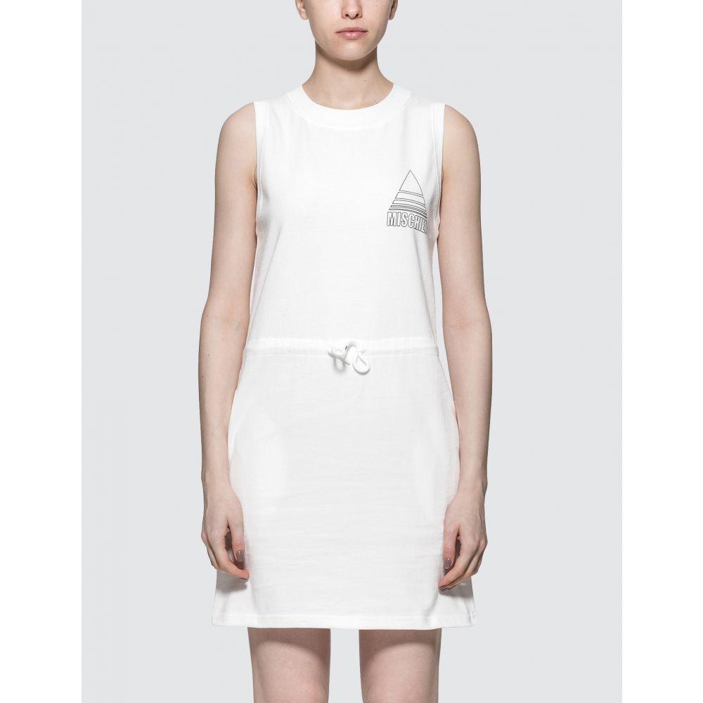 ミスチーフ MISCHIEF レディース ワンピース ワンピース・ドレス【Tennis Dress】White