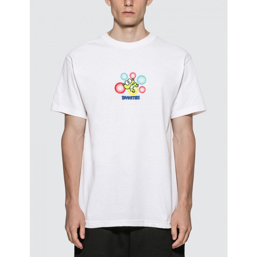 ディヴィニティーズ Divinities メンズ Tシャツ トップス【Frog T-Shirt】White