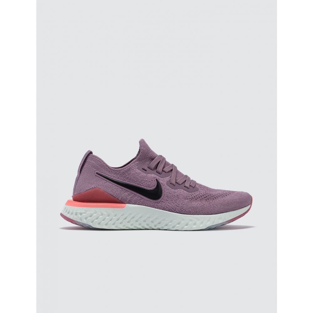 ナイキ Nike レディース スニーカー シューズ・靴【W Epic React Flyknit 2】Plum Dust/Black-ember Glow