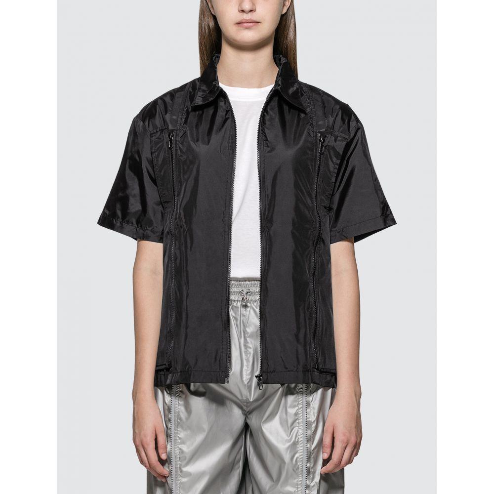 ALCH レディース トップス 【Zip Off Reusable Bag Shirt】Black