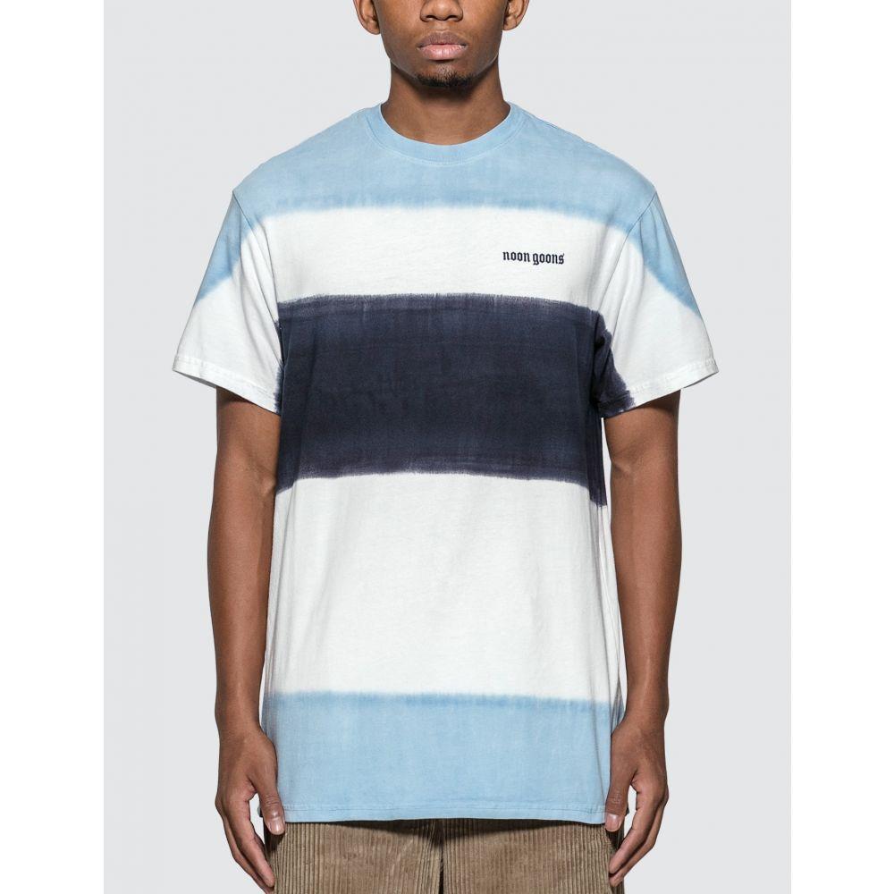 ヌーン グーンズ Noon Goons メンズ Tシャツ トップス【Max Dyed This Shirt】White/Blue/Navy