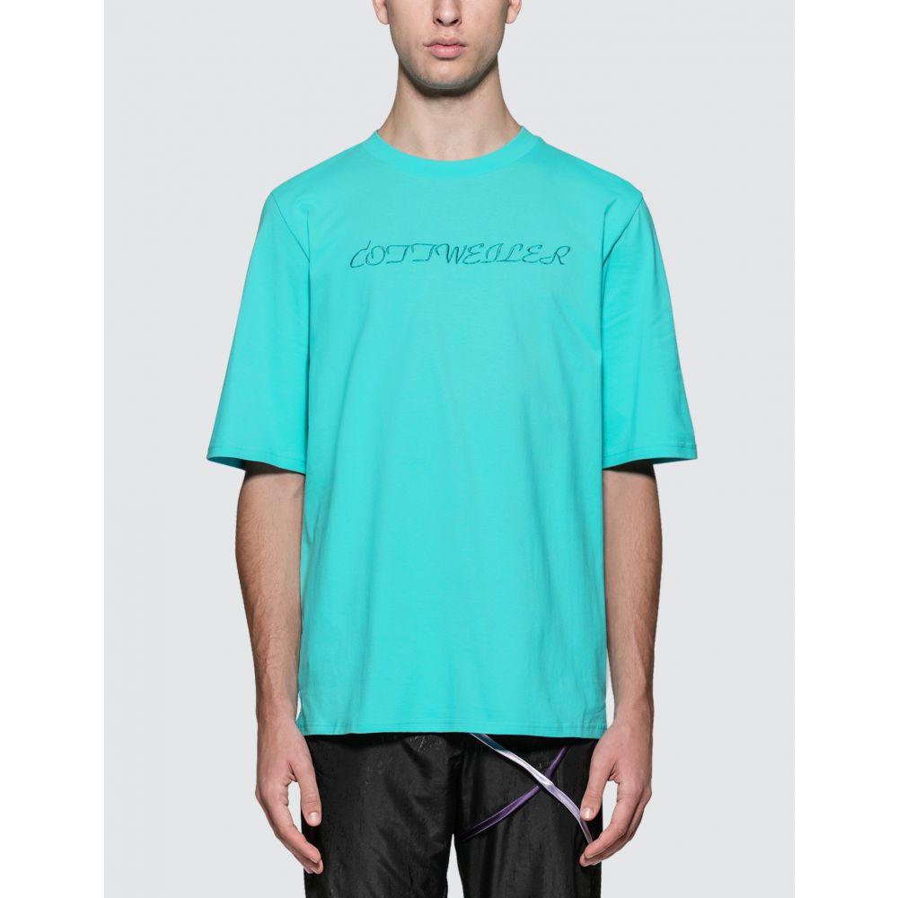 コットワイラー Cottweiler メンズ Tシャツ トップス【Signature 4.0 S/S T-Shirt】Aqua