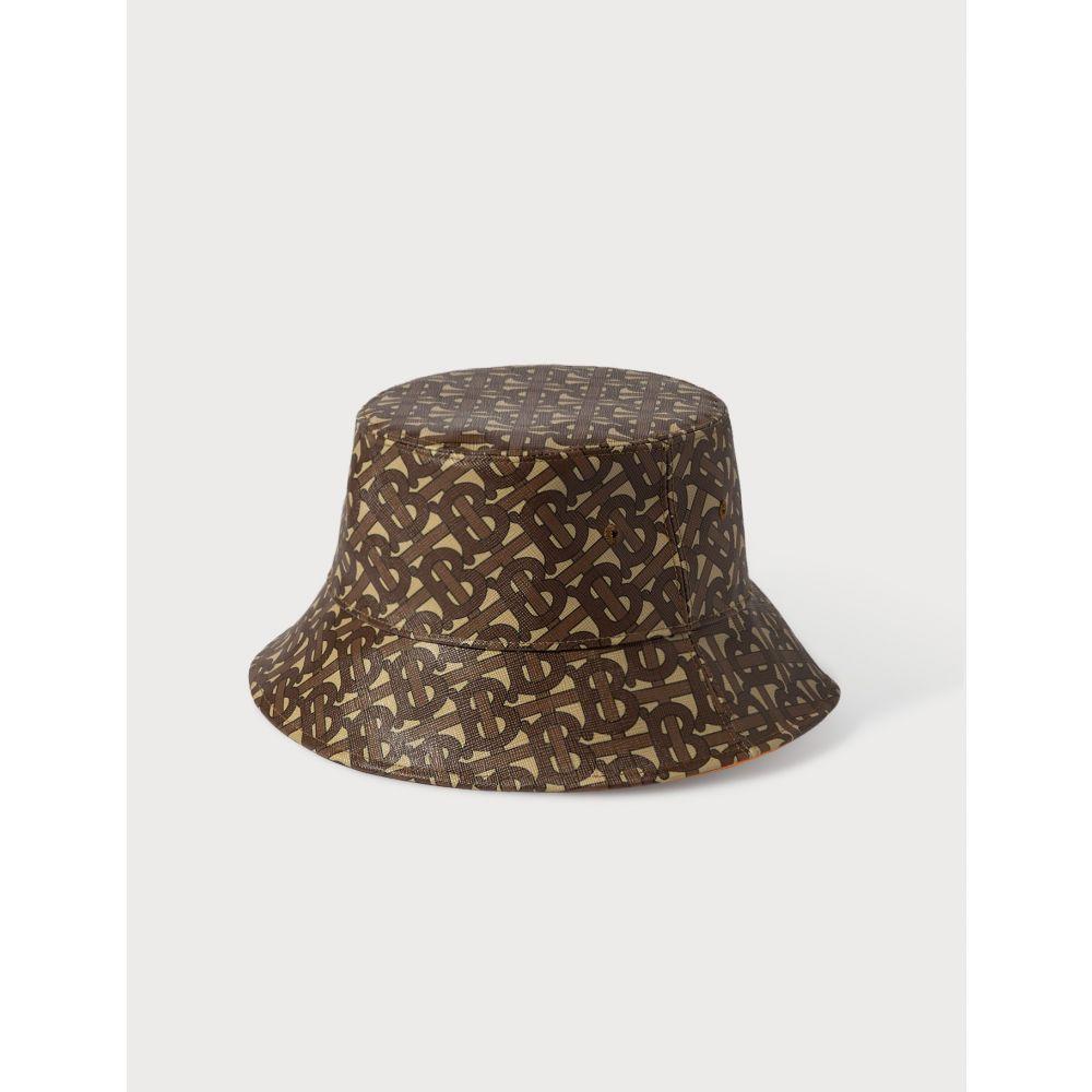 バーバリー Burberry レディース ハット バケットハット 帽子【Monogram Print Bucket Hat】Bridle Brown