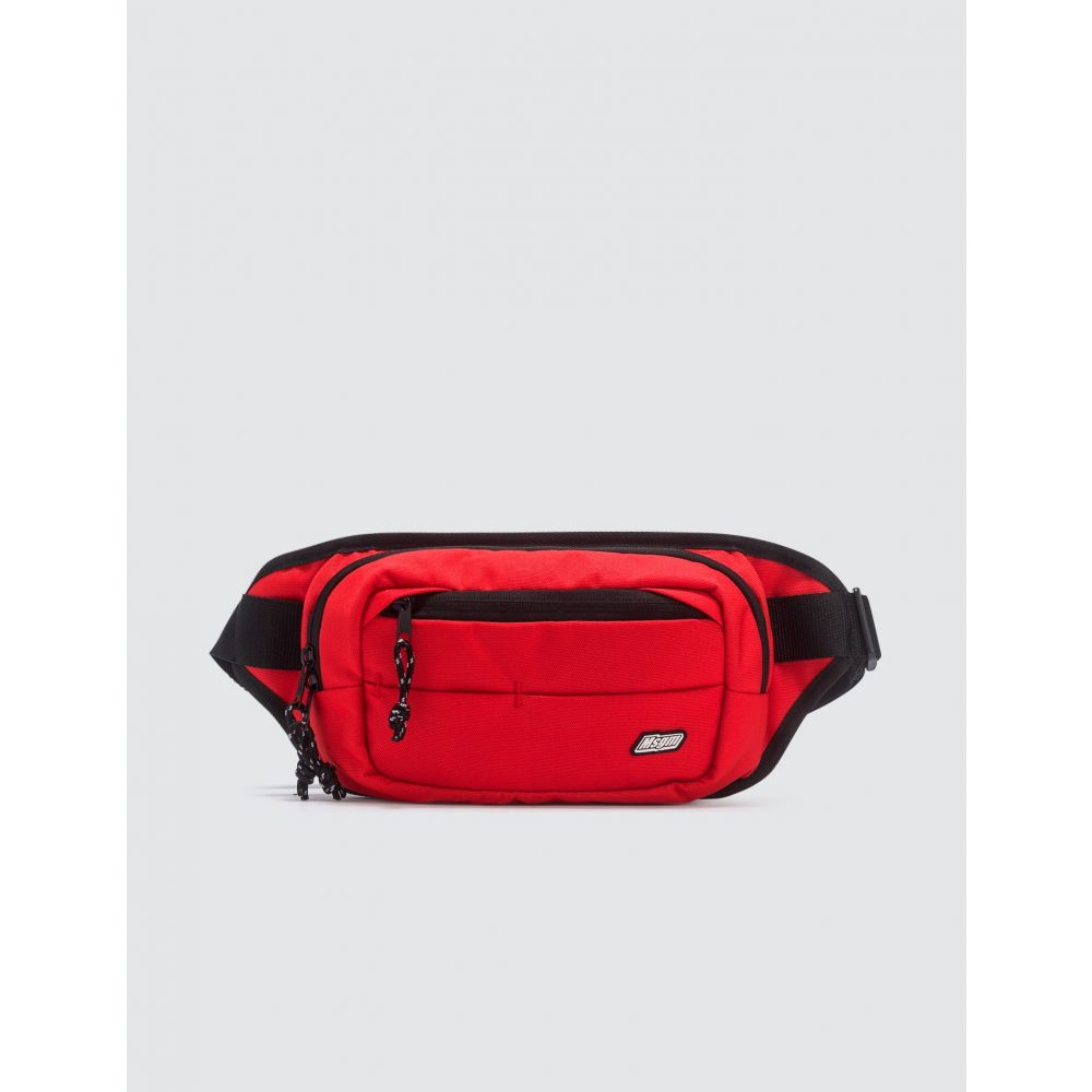 エムエスジーエム MSGM メンズ ボディバッグ・ウエストポーチ バッグ【Logo Bum Bag】Red