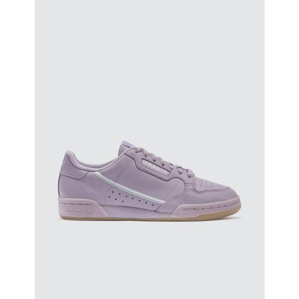 アディダス Adidas Originals レディース スニーカー シューズ・靴【Continental 80 W】Soft Vision/grey One F/grey Two F