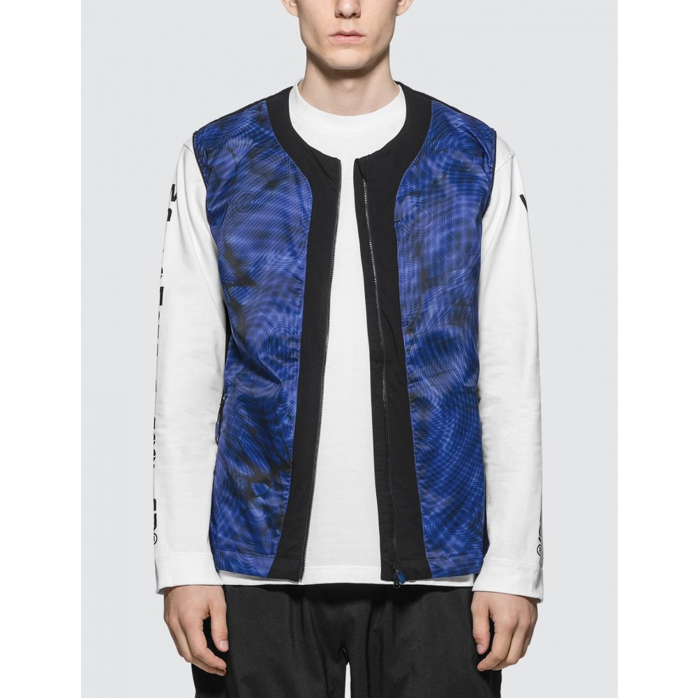 アディダス Adidas Originals メンズ ベスト・ジレ トップス【White Mountaineering x Adidas Terrex WM Vest】Blue/Black
