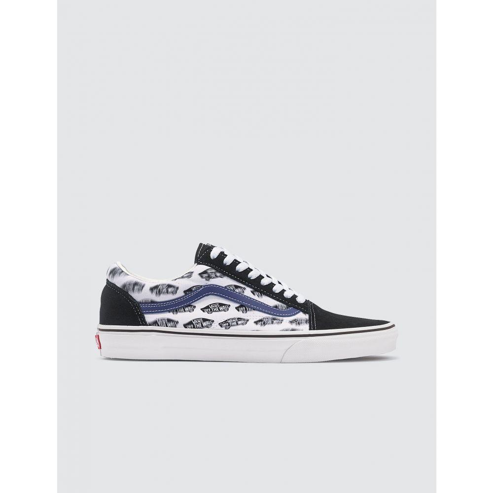 ヴァンズ Vans メンズ スニーカー シューズ・靴【Old Skool】White/Blue/Black