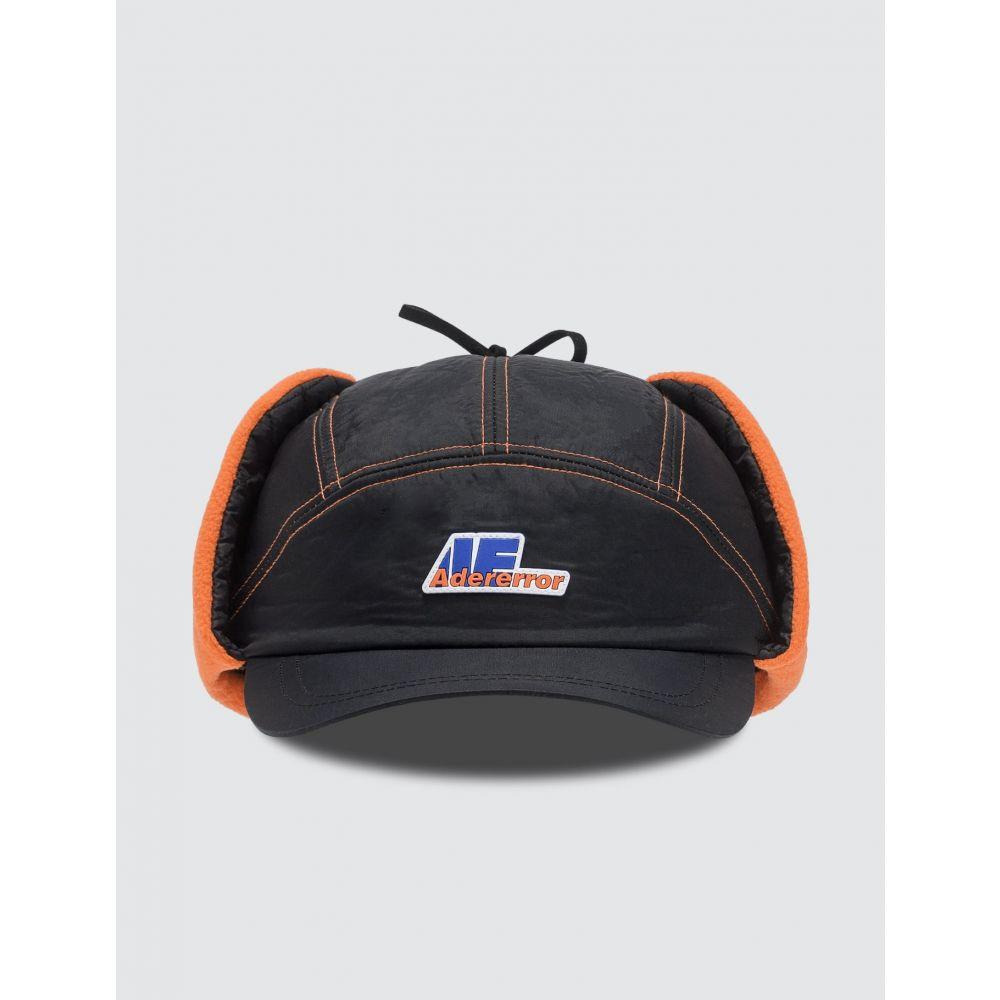 アーダーエラー Ader Error レディース キャップ 帽子【Truck Logo Earflap Cap】Black