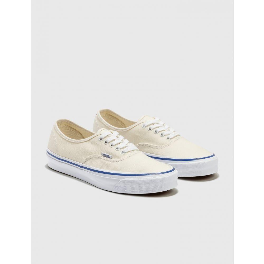 ヴァンズ Vans メンズ スニーカー シューズ・靴【og authentic lx】 Classic White