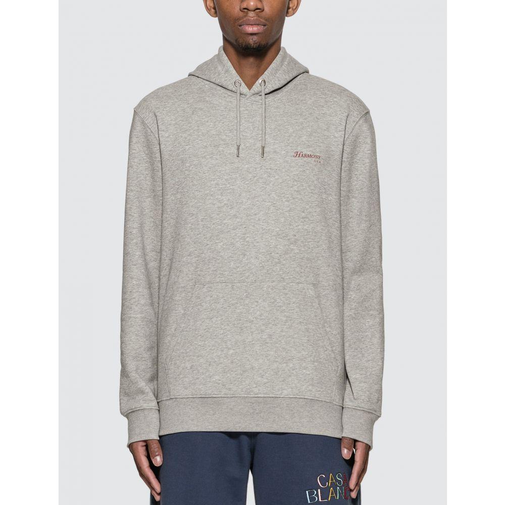 ハーモニー メンズ 舗 トップス パーカー Ash サイズ交換無料 引き出物 Harmony hoodie rizzoli Grey