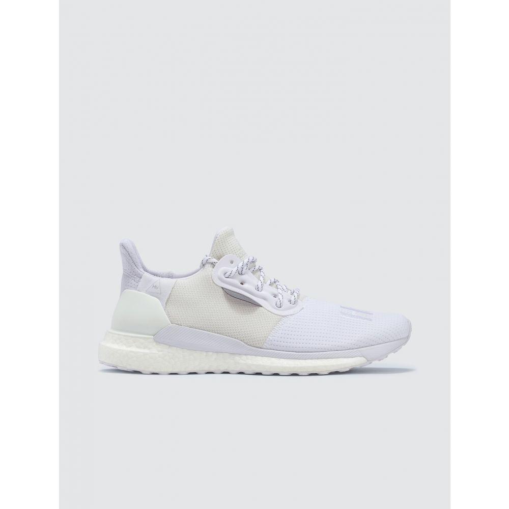 アディダス Adidas Originals メンズ スニーカー シューズ・靴【Adidas x Pharrell Williams Solar Hu PRD】White