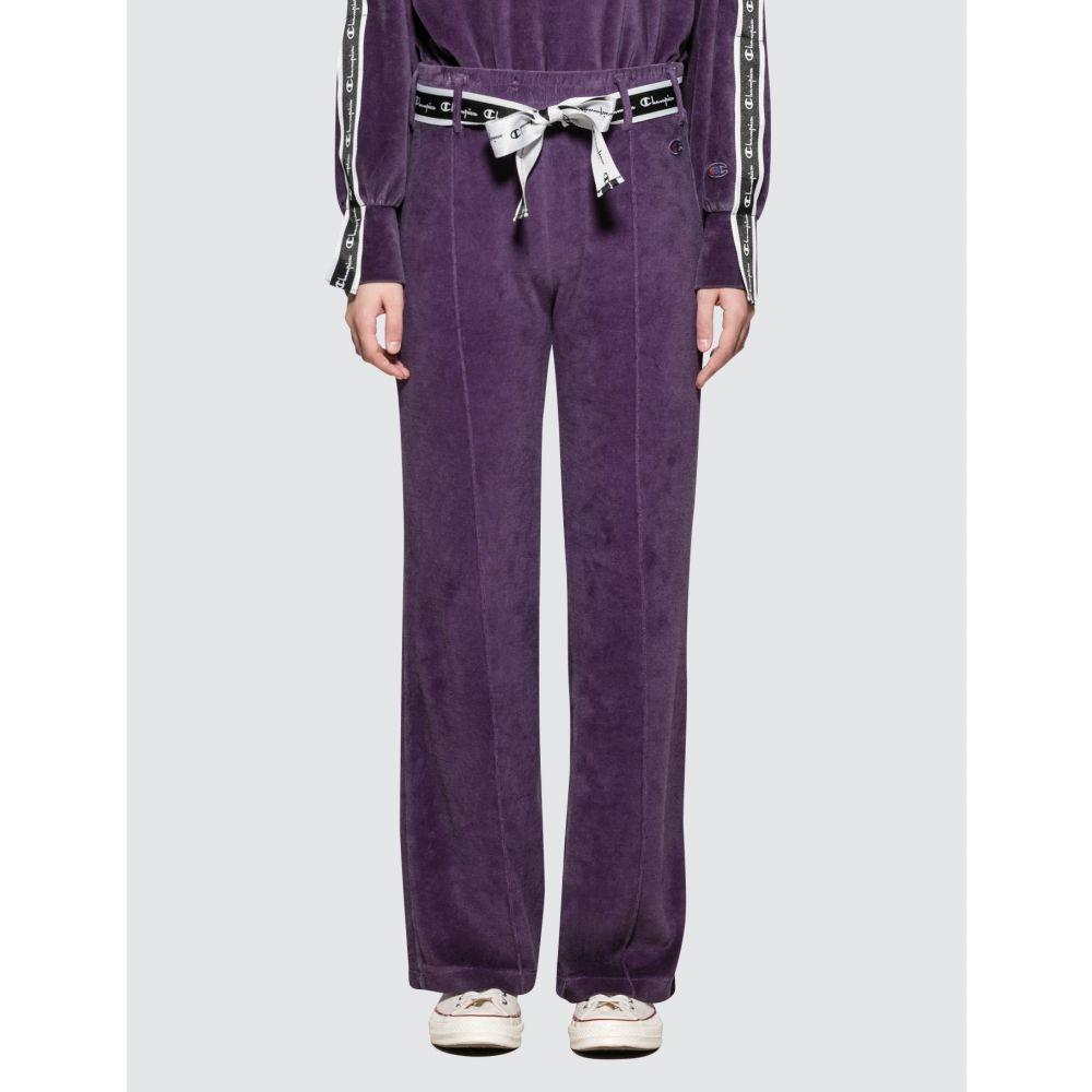 チャンピオン Champion Reverse Weave レディース ボトムス・パンツ ワイドパンツ【Wide Leg Pants】Purple