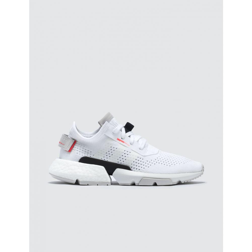 アディダス Adidas Originals レディース スニーカー シューズ・靴【Pod-S3.1 PK W】Cloud White/Cloud White/Shock Red