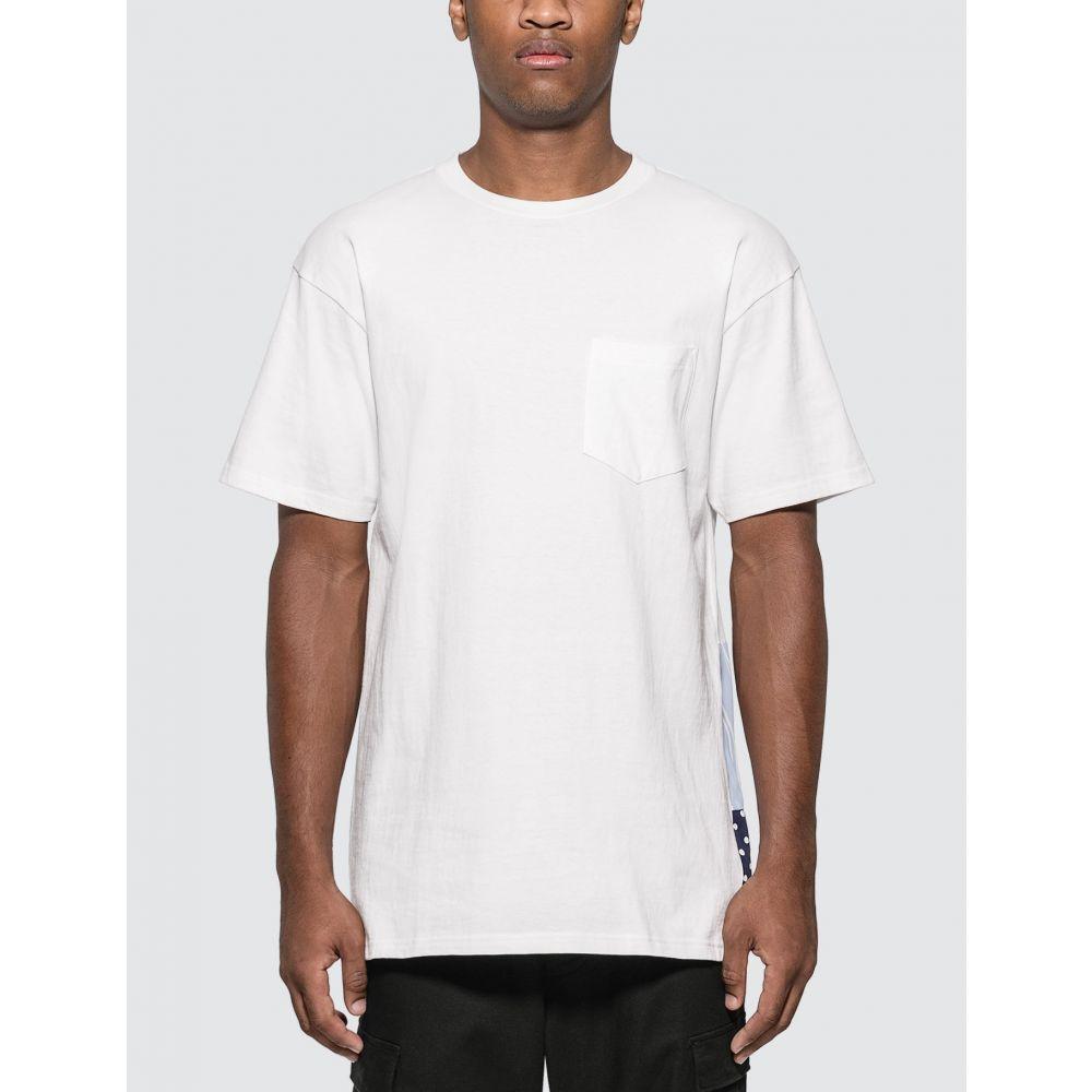 ソフネット SOPHNET. メンズ Tシャツ トップス【Back Panel T-shirt】White