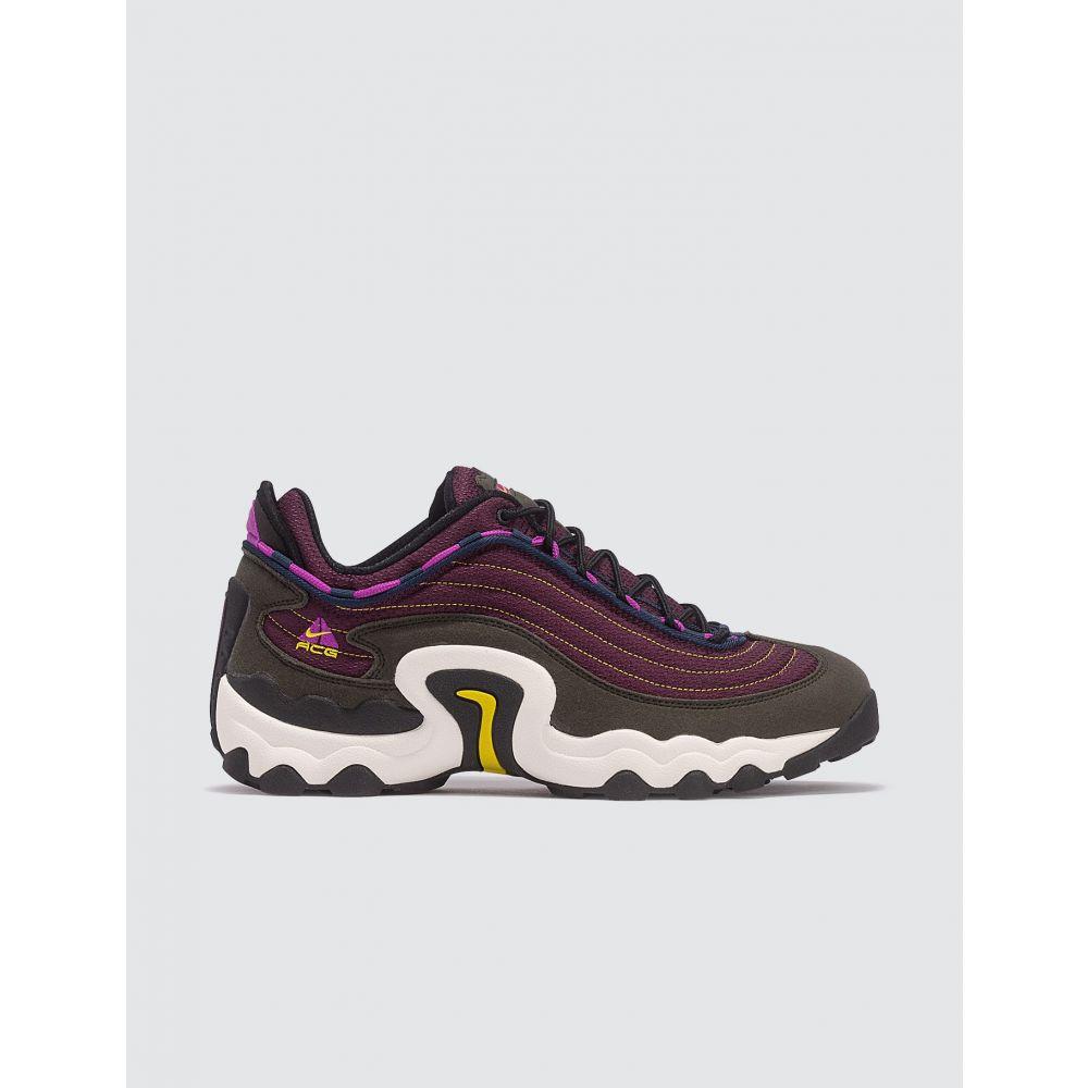 ナイキ Nike メンズ スニーカー シューズ・靴【ACG Air Skarn】Olive/Purple