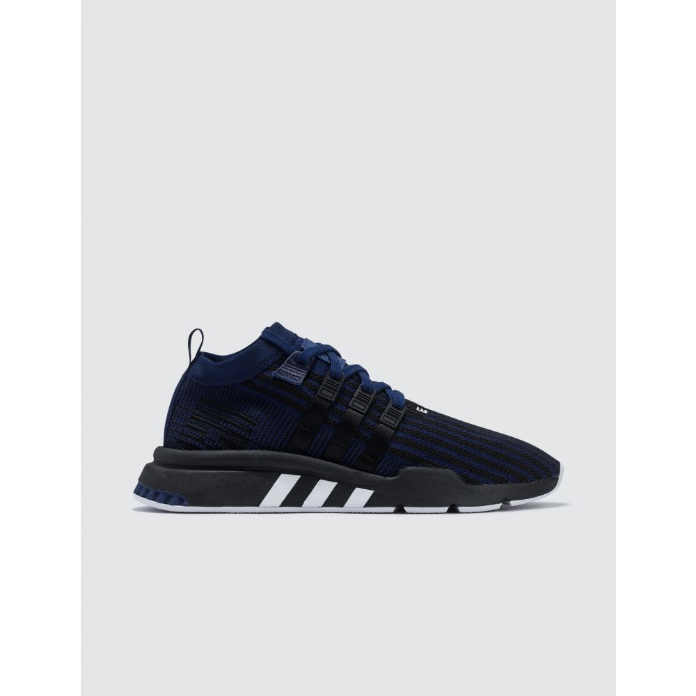 アディダス Adidas Originals メンズ スニーカー シューズ・靴【EQT Support Mid Adv Primeknit】Dark Blue/core Black/solar Yellow