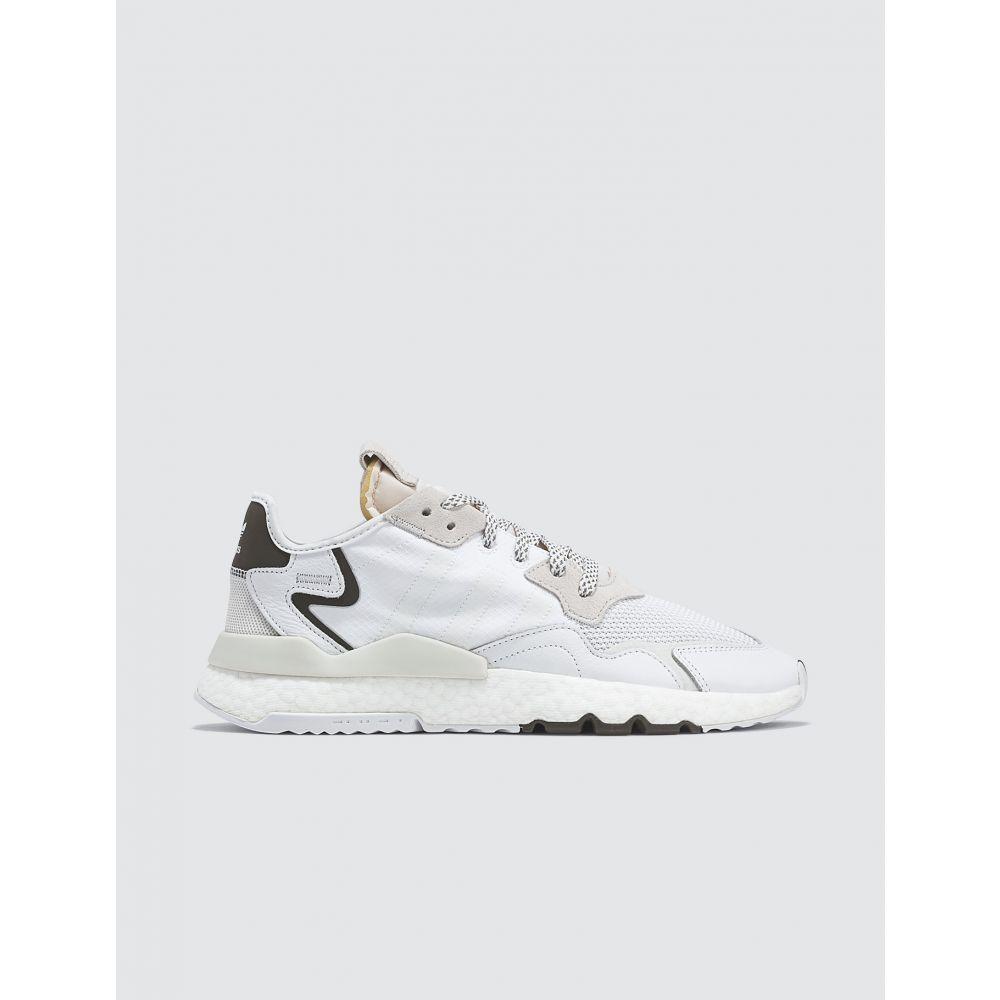 アディダス Adidas Originals メンズ スニーカー シューズ・靴【Nite Jogger】White