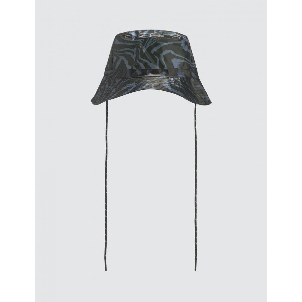 ガニー Ganni レディース ハット バケットハット 帽子【Biodegradable Bucket Hat】Blue/Black