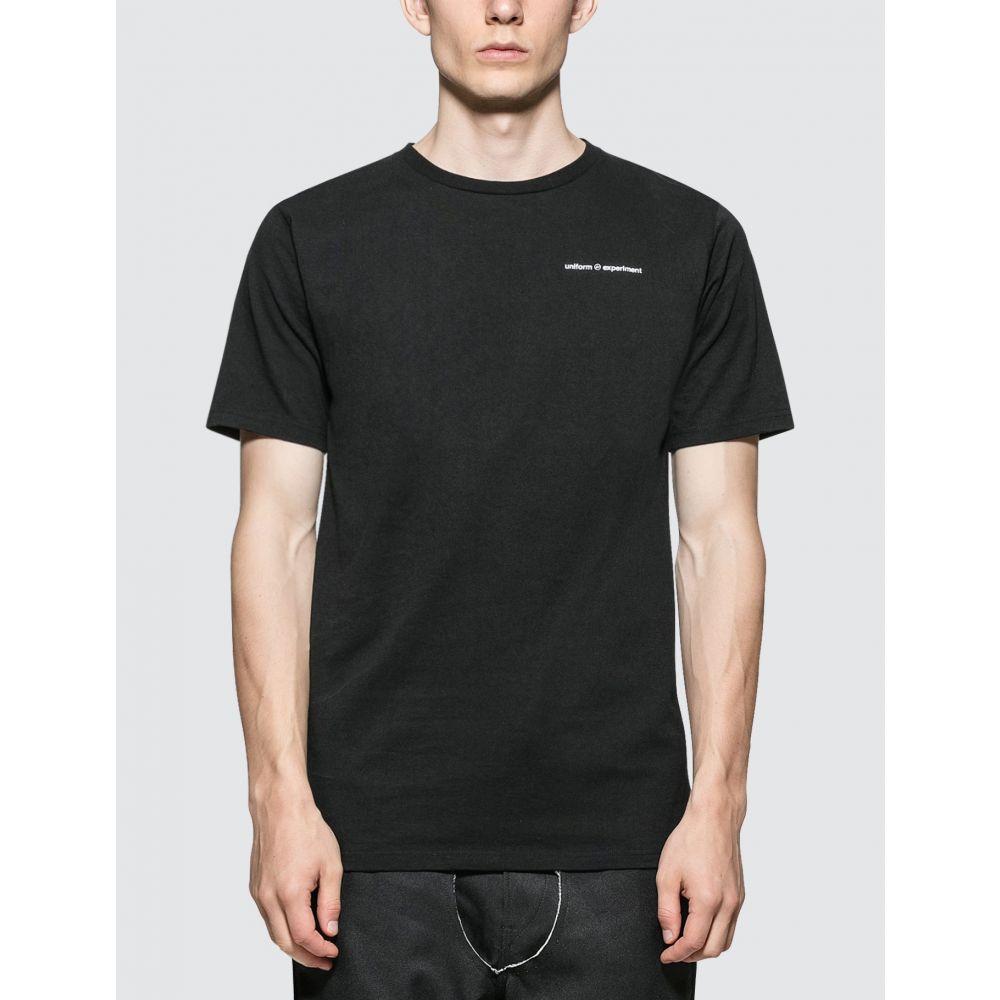 ユニフォームエクスペリメント uniform experiment メンズ Tシャツ トップス【Reversible T-Shirt】Black