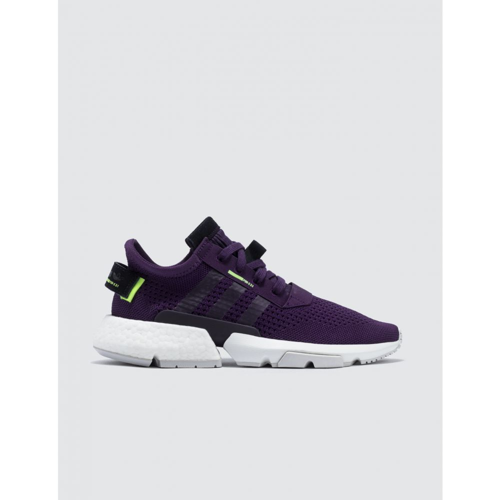 アディダス Adidas Originals レディース スニーカー シューズ・靴【Pod-S3.1 PK W】Legend Purple/Legend Purple/Hi-Res Yellow