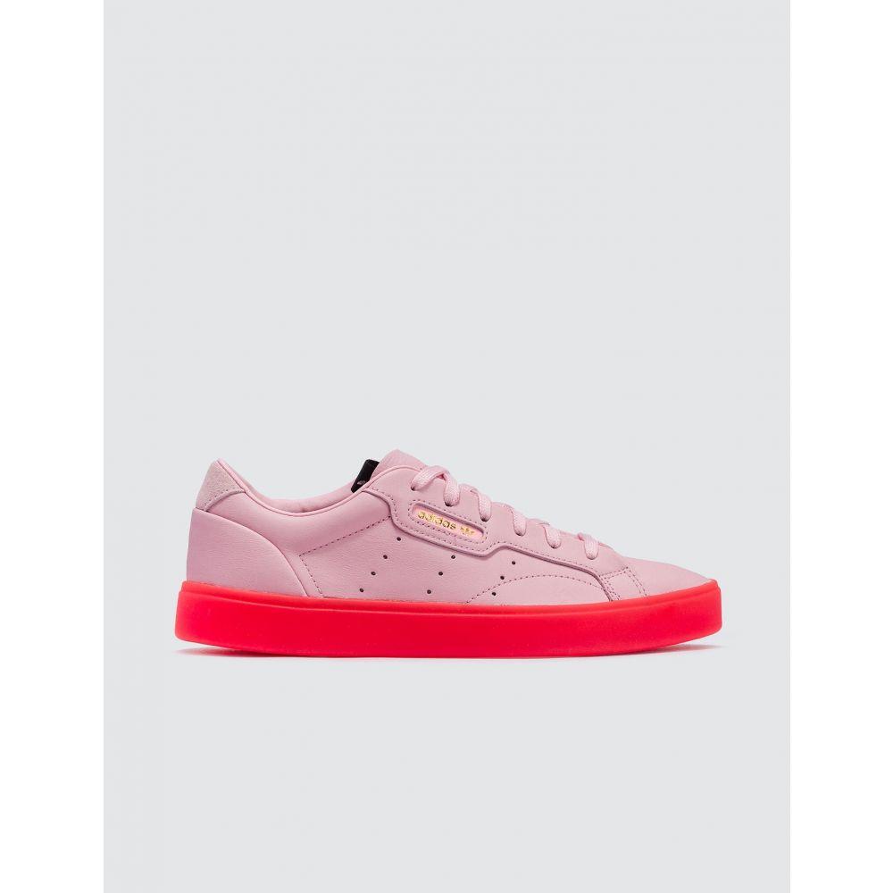 アディダス Adidas Originals レディース スニーカー シューズ・靴【Adidas Sleek W】Diva/Diva/Red