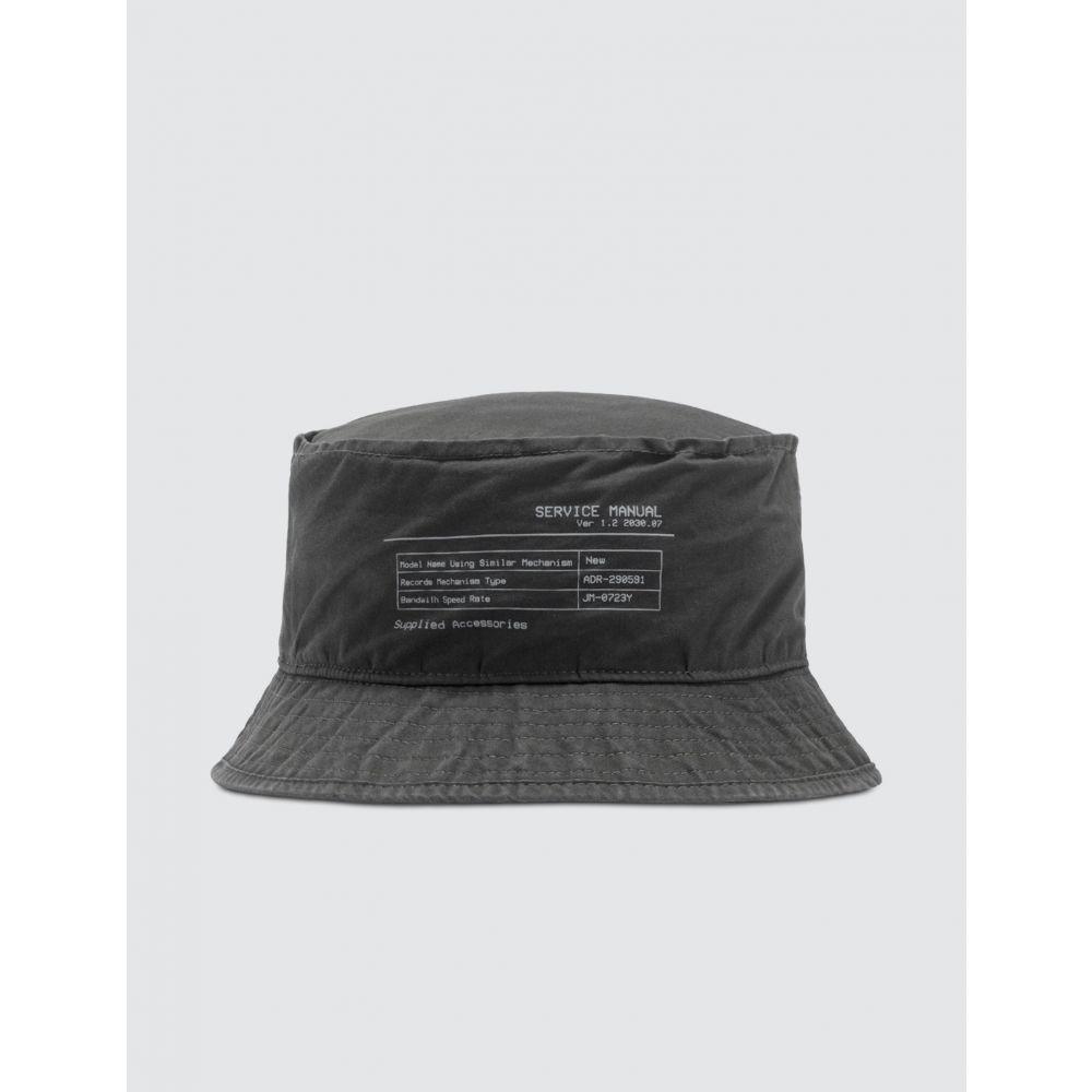 シーツーエイチフォーエルエー C2H4 Los Angeles レディース ハット バケットハット 帽子【Instruction Print Bucket Hat】Slate Gray
