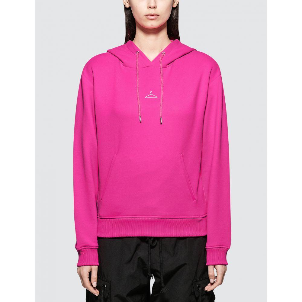 ホルスウィラー Holzweiler レディース パーカー トップス【Neon Hang On Hoodie】Neon Pink