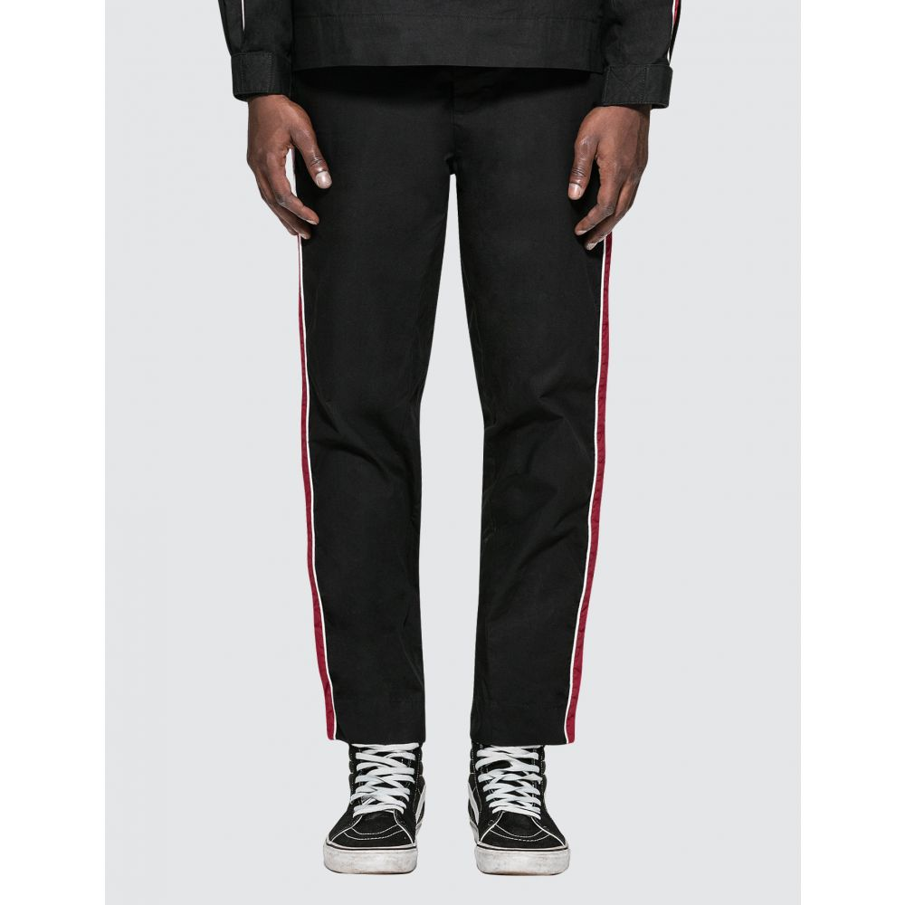 スタンプド Stampd メンズ スウェット・ジャージ ボトムス・パンツ【Racing Track Pants】Black