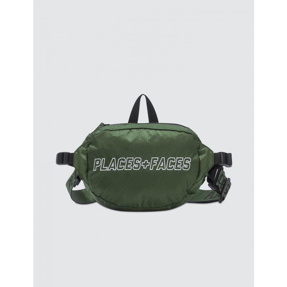 プレイス + フェイス Places + Faces レディース ボディバッグ・ウエストポーチ バッグ【Pouch Bag】Green