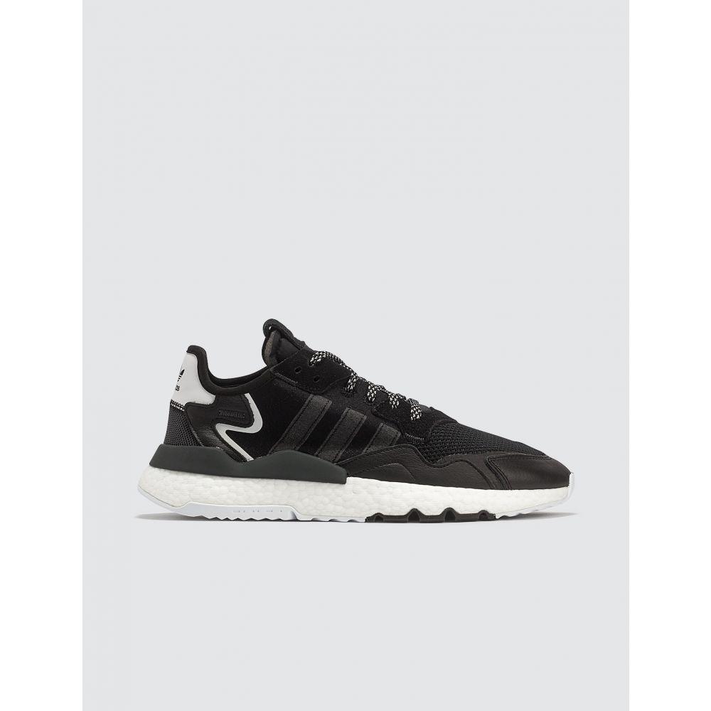 アディダス Adidas Originals メンズ スニーカー シューズ・靴【Nite Jogger】Black