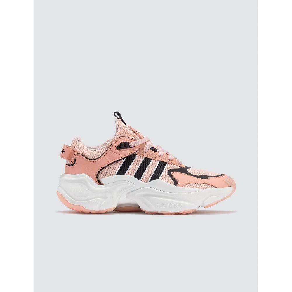 アディダス Adidas Originals レディース スニーカー シューズ・靴【Magmur Runner】White/Pink/Black