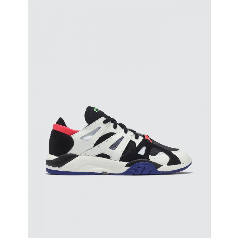 アディダス Adidas Originals メンズ スニーカー ローカット シューズ・靴【Dimension Low Top Sneakers】Black/Red/White