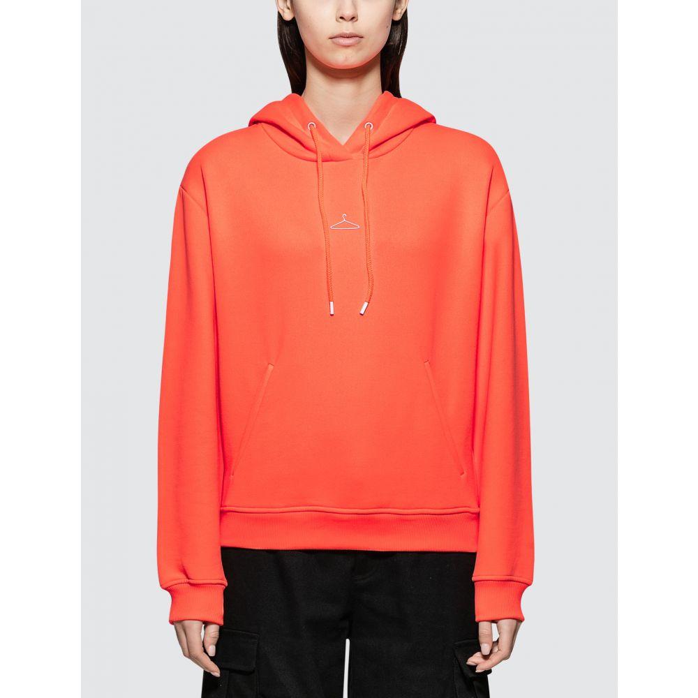 ホルスウィラー Holzweiler レディース パーカー トップス【Neon Hang On Hoodie】Neon Orange