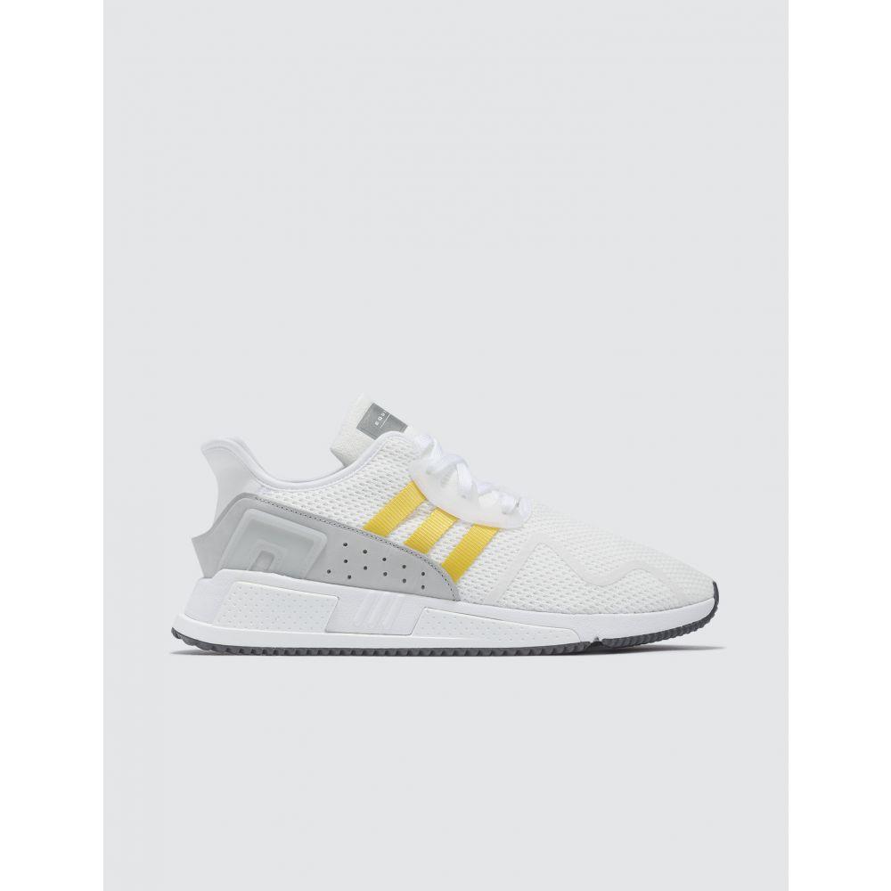 アディダス Adidas Originals メンズ スニーカー シューズ・靴【EQT Cushion ADV】White/eqt Yellow